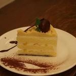 FOODIES CAFE NIFTY - 三角モンブラン