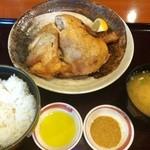 みさき食堂 - 丸鶏素揚げランチ  2012年  味咲