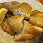 みさき食堂 - 丸鶏素揚げ(半身)2012年  味咲