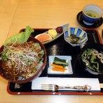 日本料理 南天 - 牛ステーキ丼