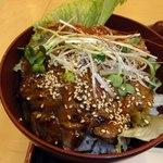 日本料理 南天 - 結構たっぷりな量 甘辛いタレ