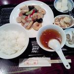 16568714 - 2012年12月28日のCランチ エビと野菜のブラックペッパー炒め790円