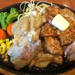 みさき食堂 - コンボトンテキ定食  2012年  味咲