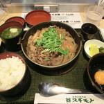 キッチン・スギモト - 黒毛和牛すき鍋