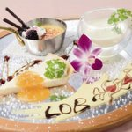 LOB - 【デザート盛合せ】お祝い事にも大活躍!メッセージも入れられます