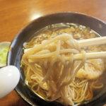 1657958 - 温かい天婦羅蕎麦 細めん