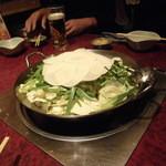 16571301 - 水炊き風もつ鍋