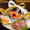 旅荘 海の蝶 - 料理写真:お祝いセットアップ