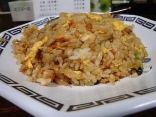 尾道ラーメン 一丁 - 炒飯小 尾道炒飯らしく醤油美味しい。