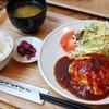 エンジョイ・カフェ - 料理写真:洋風チーズハンバーグ定食