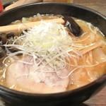 さっぽろ大心 - みそラーメン大盛850円+ねぎ50円 2012.12