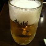 韓式居酒屋 アッパ - スーパードライ