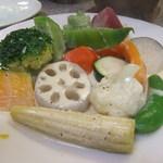 あらかると - 季節の温野菜