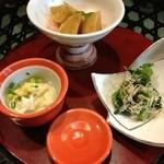 小槌の宿 鶴亀大吉 - 料理写真:珍味三種