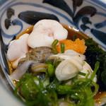 数馬 - 真鱈のタチと牡蠣の酢の物