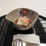 16579220 - 前菜の蟹胡麻豆腐