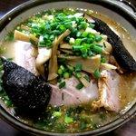 NAGAZUYA - 野菜ラーメン+チャーシュー!(2012,12/27)