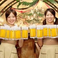 ビヤホールライオン - 天井が高く開放的な「B1ビヤホール」 いつも陽気に杯を高らかに乾杯~!