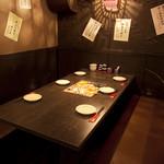 牛タン 圭助 - 6名テーブル席