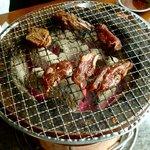 焼肉 永福苑 - 炭焼きコンロ