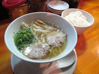 ぺぺらーめん - らーめん定食(塩)