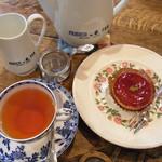 ラビニア - 木苺のタルトレット・ヌワラエリヤ¥950