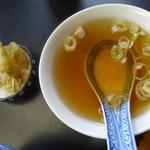京華苑 - スープ・お新香付き