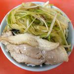 ラーメンショップ - 自作ネギ丼 2012年12月