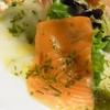 きらの宿 すばる - 料理写真:サーモンとタコとエビのカルパッチョ。特に生のタコが美味しく頂けました。