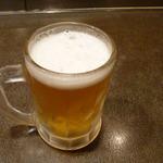 花くじら - 生ビールです。