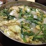 藍いち - 料理写真:もつ鍋