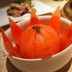 焼肉の古賀 - トマトサラダ❤丸ごと可愛い(^^)とっても美味しい