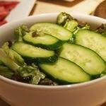 焼肉の古賀 - サラダ