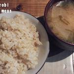 ココカラforest - ご飯は玄米ご飯