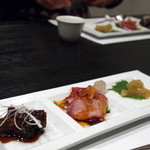 中国料理 星華 - 前菜三種盛