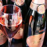 アクア ヴィーノ - アクアパッツァの姉妹店だけに、ワインの酒類も豊富です!