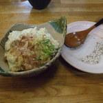かえで - 2012.12.30 寄せ豆腐450円