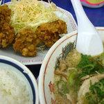 来来亭 - カラアゲ定食