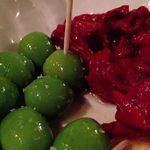 ラ ファーメ - 自家製セミドライトマトとシチリアオリーブ