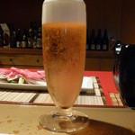 16590969 - 【H24.12.29】先ずは、グラスビールからスタート。
