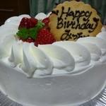 トゥレ ジュール - 2012.12誕生日ケーキ(フレジェ)①