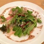 ポモドーロ - ディナーコース(2380円)※生ハムの サラダ
