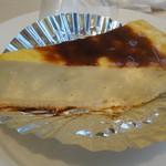 リンタロウ カフェ - しっとりしたチーズケーキ