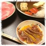 浅草今半 - 肉が良過ぎてぺろっといけちゃいます