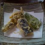 きぬたや - 野菜天ぷら(その1)