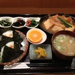 16595080 - 2012年12月 揚げ豆腐じゃがいも煮定食 680円