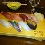 16595328 - 地ものにぎり寿司