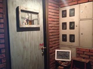下北沢熟成室 - 入り口の扉