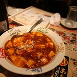 南国亭 - 麻婆豆腐は甘くて辛い?w
