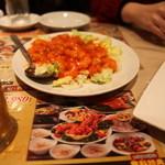 南国亭 - エビチリは安心の美味しさパシャッ! Σp[【◎】]ω・´)